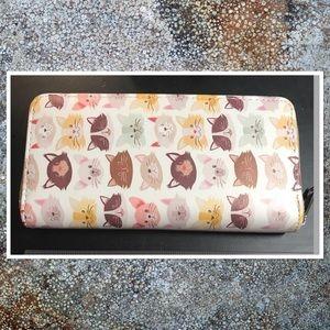 Handbags - Kitty Face Wallet